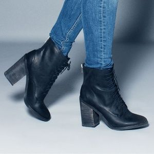 SHOEMINT NICE ANKLE BOOTS FIRM PRICE
